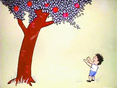 大班绘本教案:苹果树